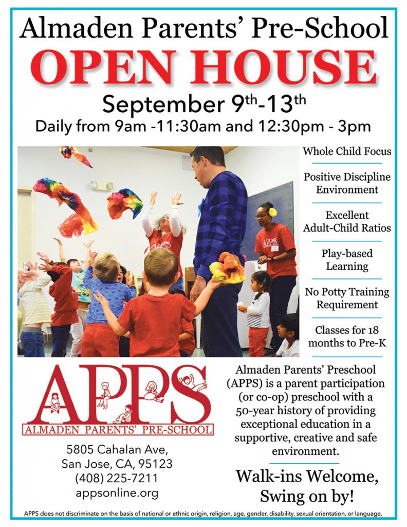 Drop in to the school during Open House week!